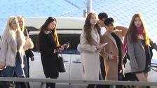 Seventeen现身机场难掩帅气 宇宙少女出国也自体发光!