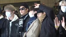 Wanna One冬装私服超帅 GOT7七缺四赴日参加MAMA!