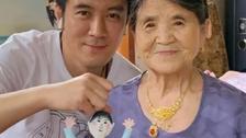 黄圣依婆婆80岁能穿针引线?