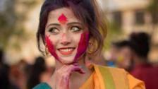 印度女孩因为颜值一夜走红!