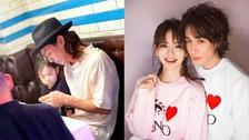 李承铉带女儿吃海鲜大餐 网友惊呼Lucky和戚薇一模一样!